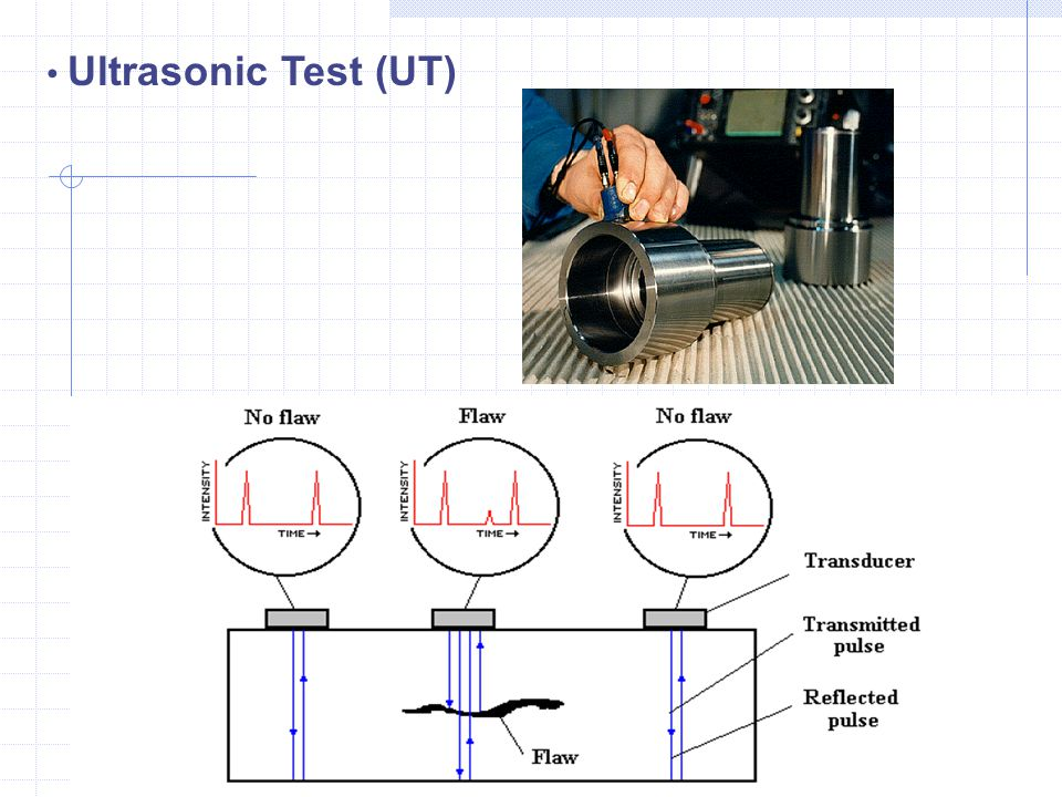 Ultrasonic Test (UT) GJ, IIT M, Chennai