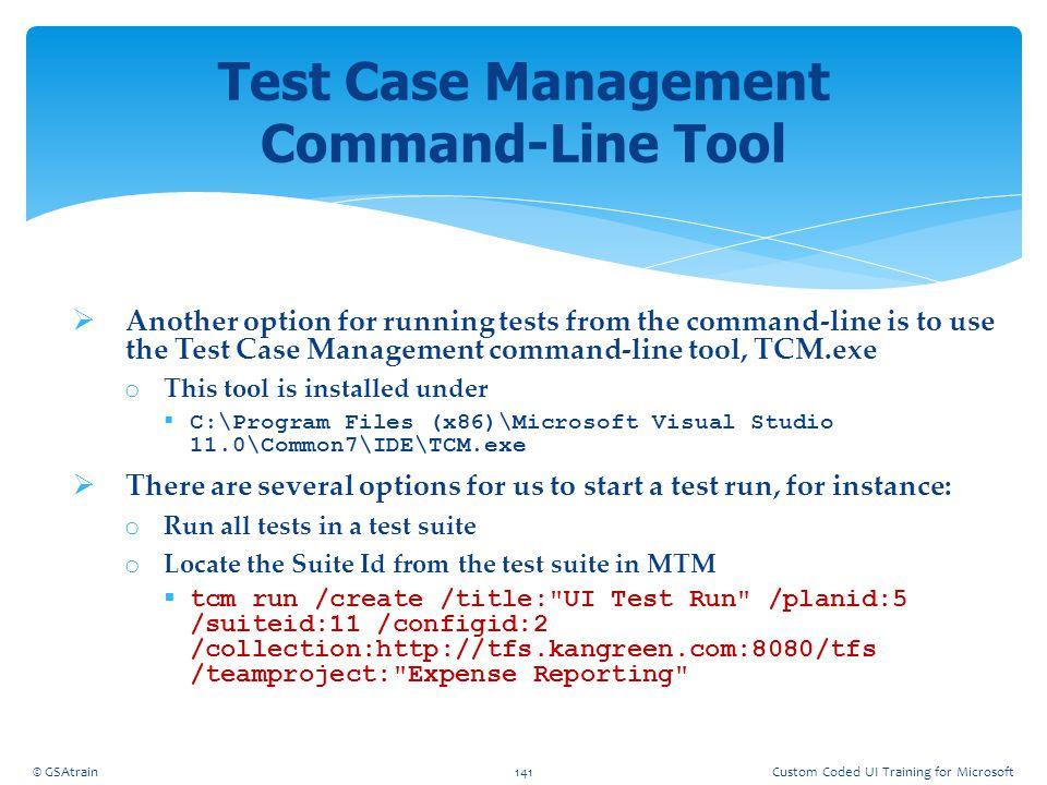 Test Case Management Command-Line Tool
