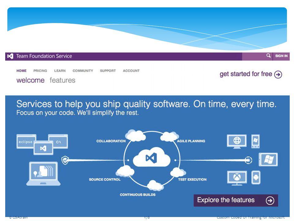 Coded UI Testing October, 2012 © GSAtrain Custom Coded UI Training for Microsoft © GSAtrain