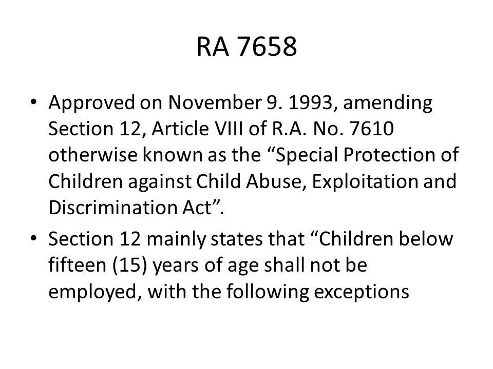 RA 7658