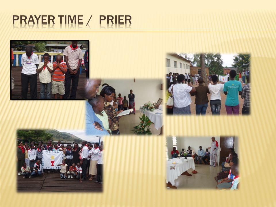 Prayer TIME / Prier