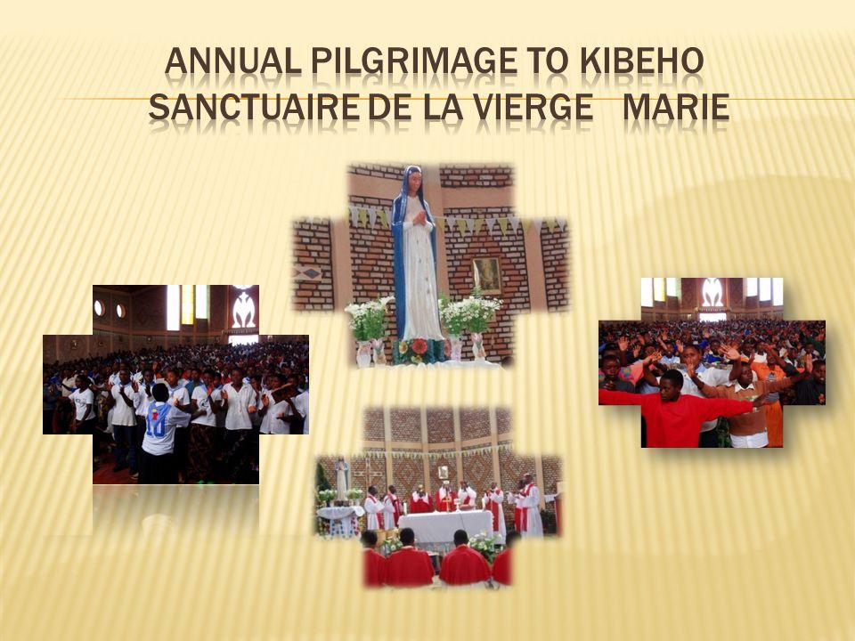 Annual Pilgrimage to Kibeho Sanctuaire de la Vierge marie