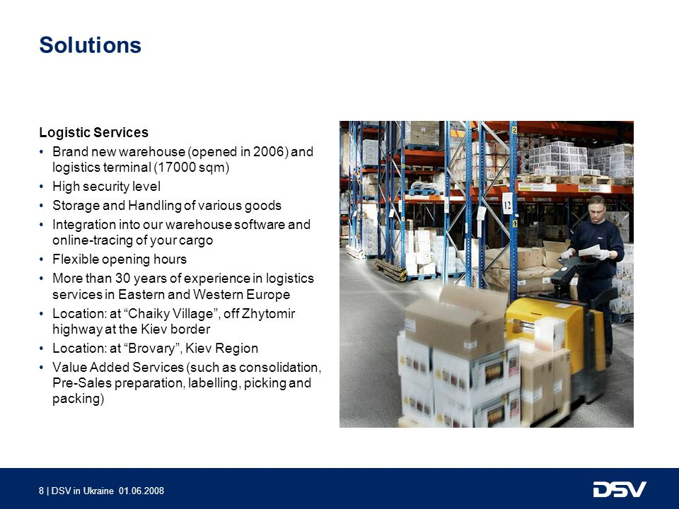 Solutions Logistic Services