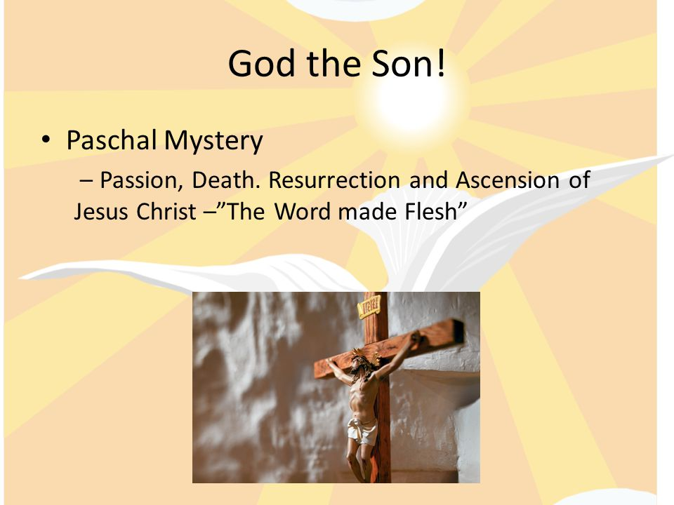 God the Son! Paschal Mystery