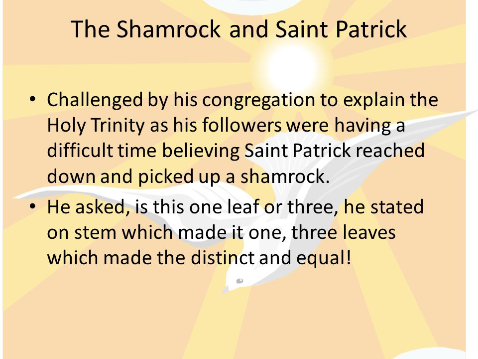 The Shamrock and Saint Patrick