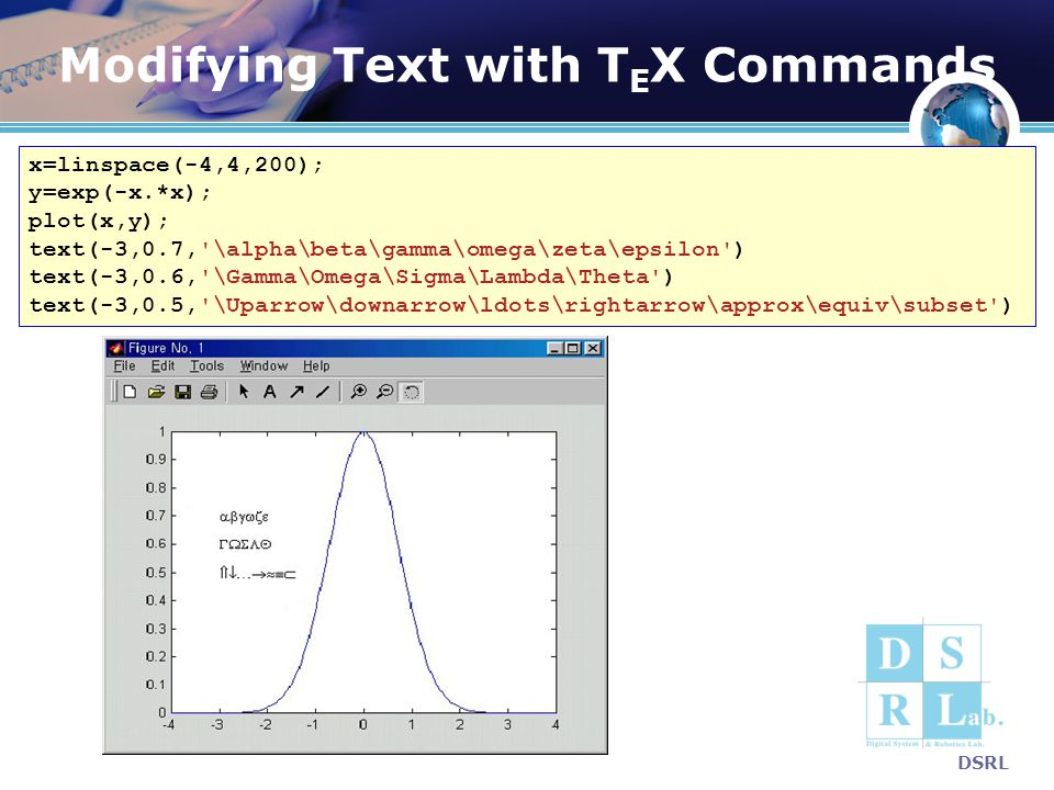 Modifying Text with TEX Commands