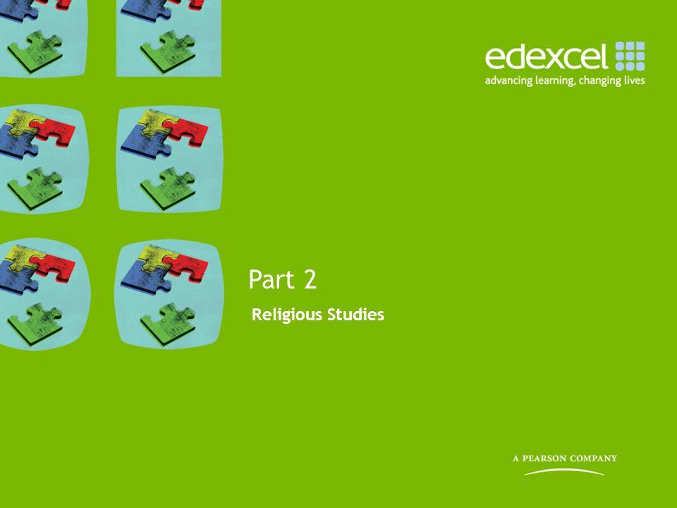 Part 2 Religious Studies 13