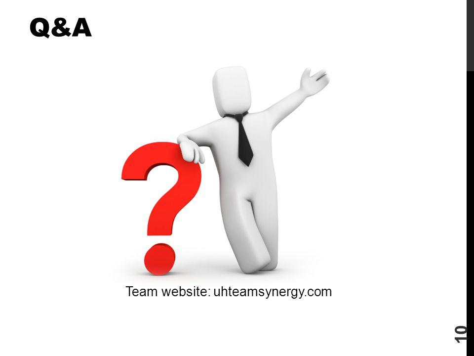 Team website: uhteamsynergy.com