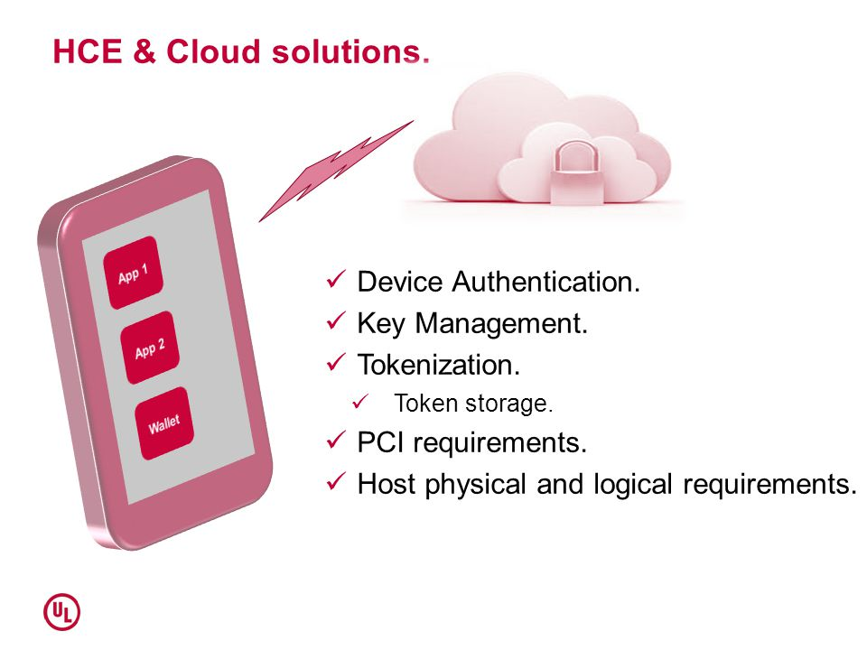 HCE & Cloud solutions. Device Authentication. Key Management.