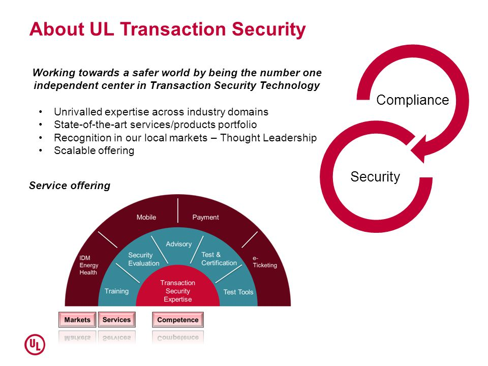 About UL Transaction Security