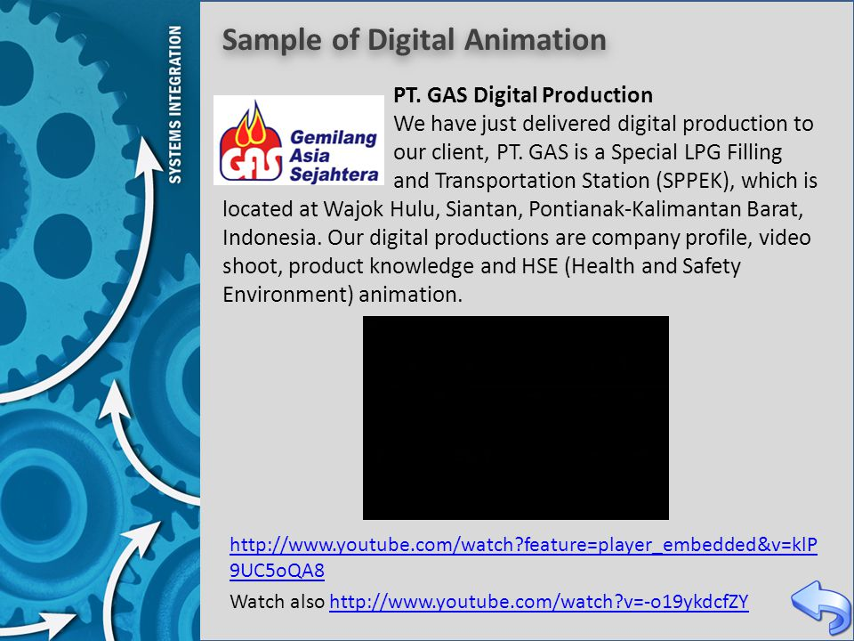 Sample of Digital Animation