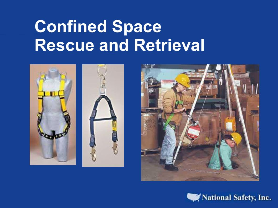 Confined Space Rescue and Retrieval