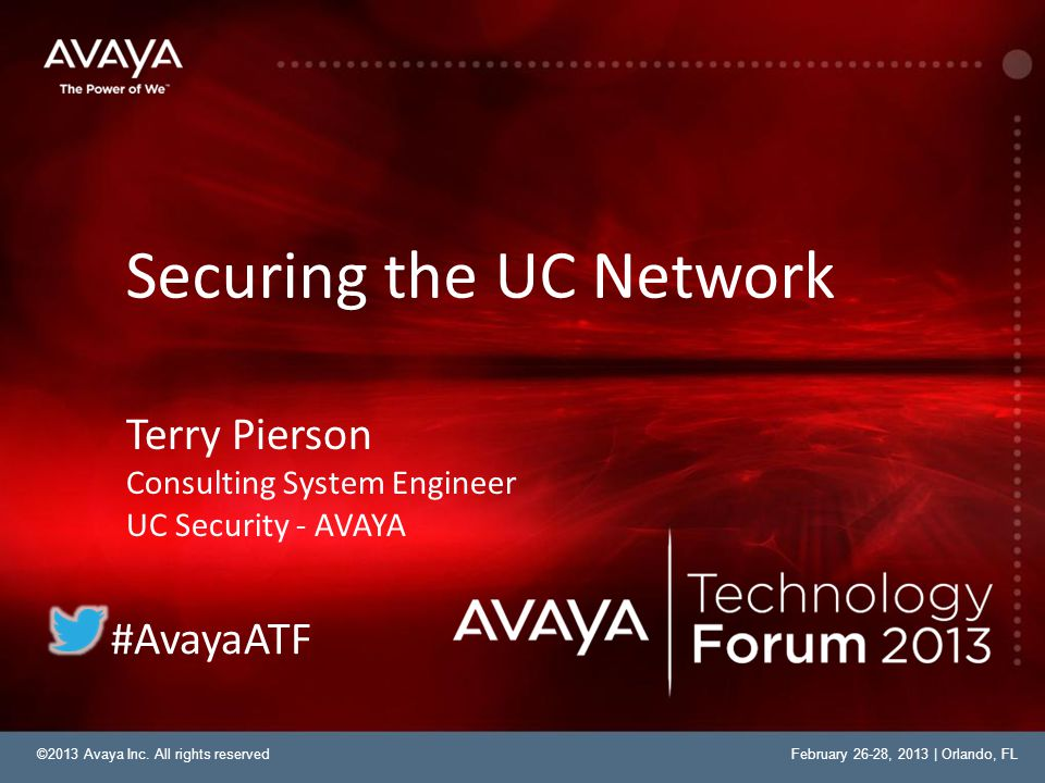 Securing the UC Network