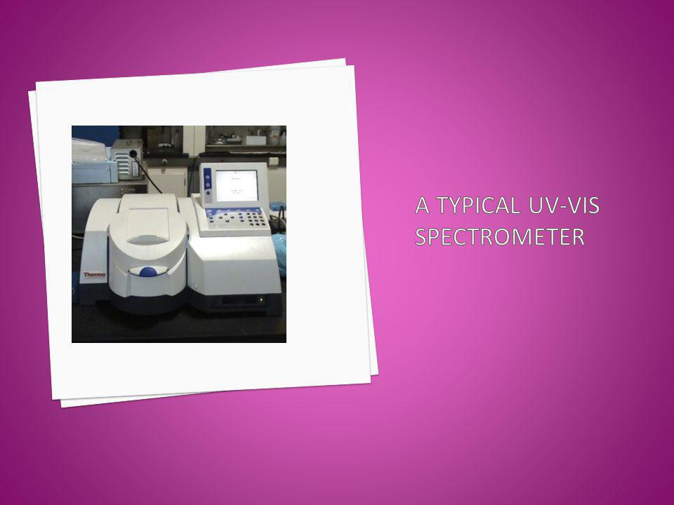 A Typical Uv-vis Spectrometer