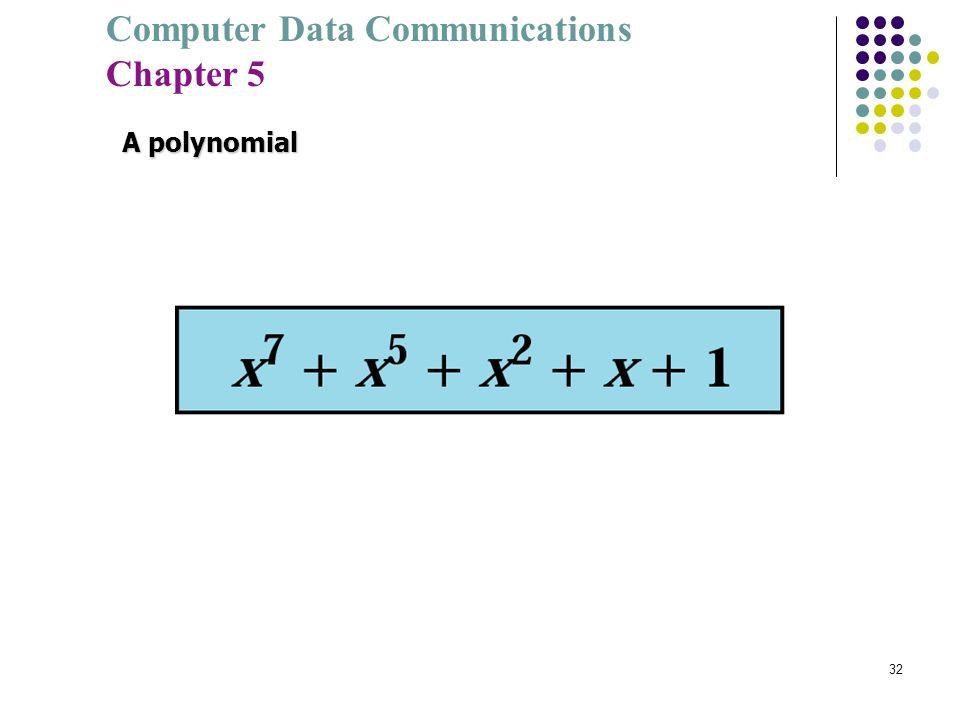 A polynomial