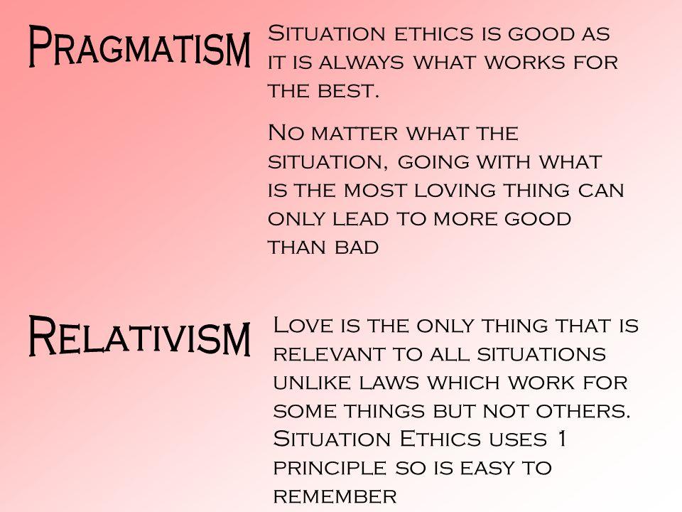 Pragmatism Relativism