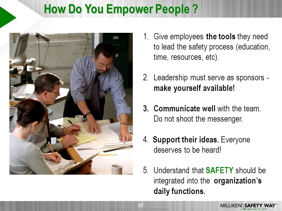 How Do You Empower People