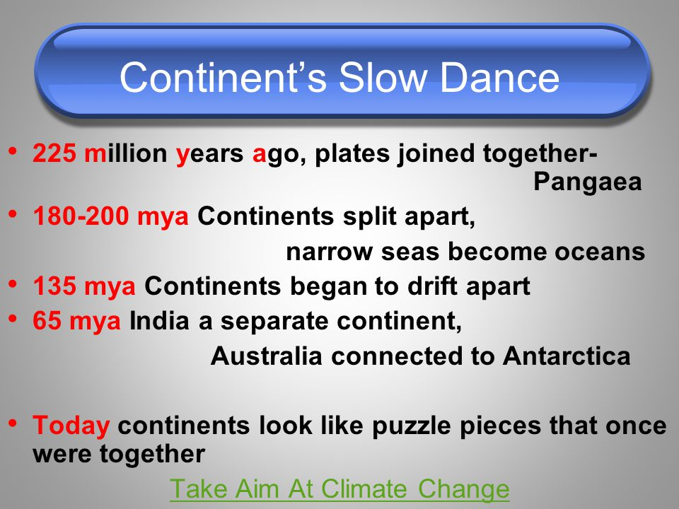 Continent's Slow Dance