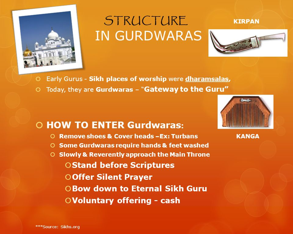 STRUCTURE KIRPAN IN GURDWARAS