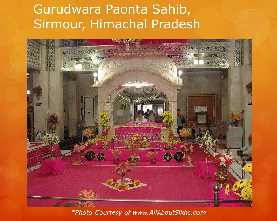 Gurudwara Paonta Sahib, Sirmour, Himachal Pradesh