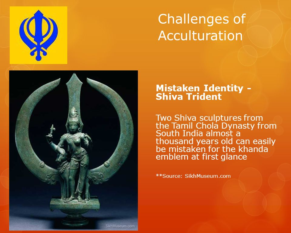 Challenges of Acculturation