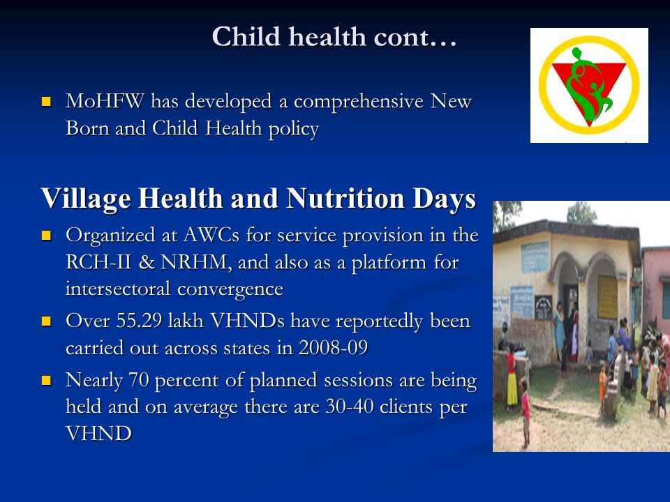 Village Health and Nutrition Days