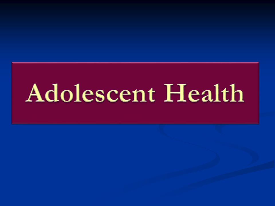 Adolescent Health Adolescents (age 10-19) constitute over 23% of the population in India, numbering 230 million.