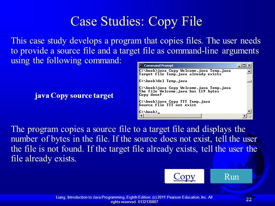 Case Studies: Copy File