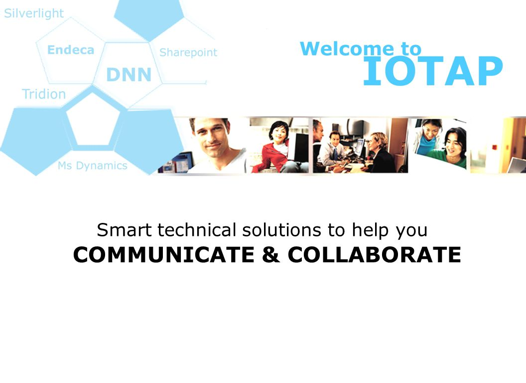 COMMUNICATE & COLLABORATE