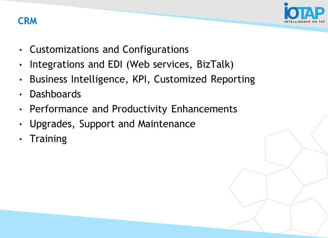 CRM Customizations and Configurations