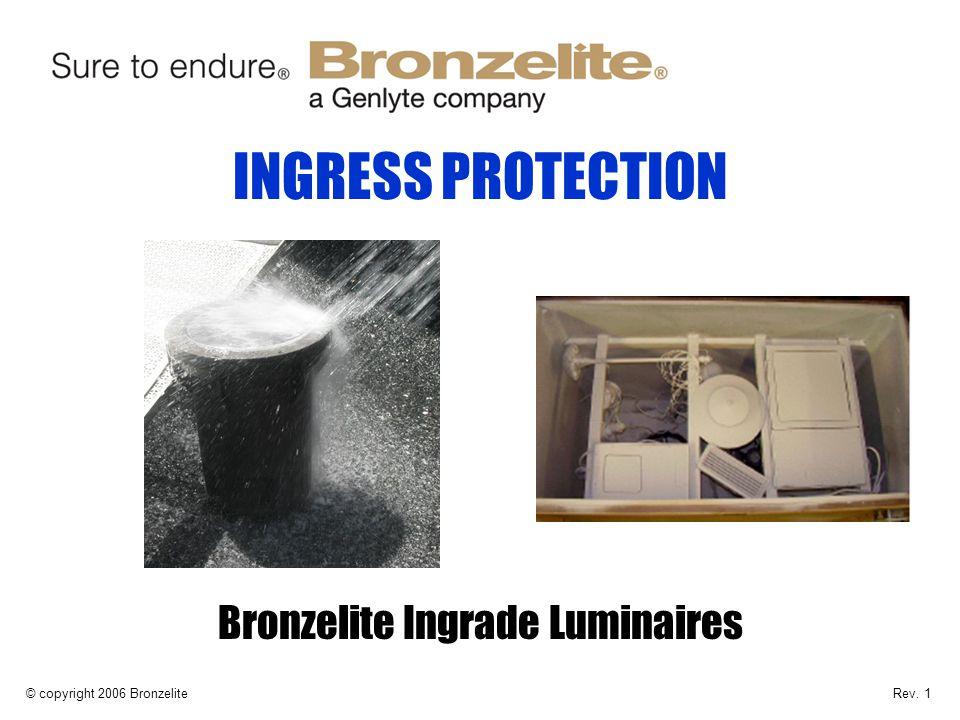 Bronzelite Ingrade Luminaires