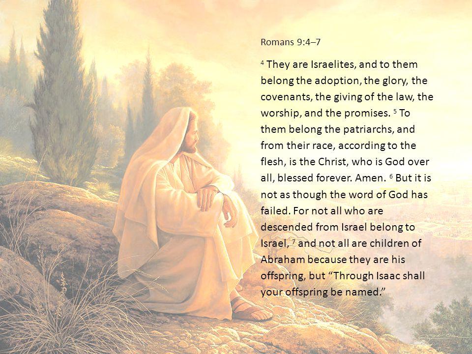 Romans 9:4–7