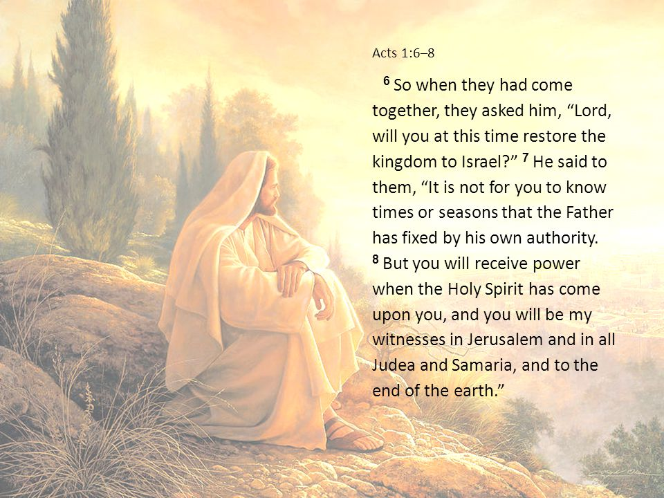 Acts 1:6–8