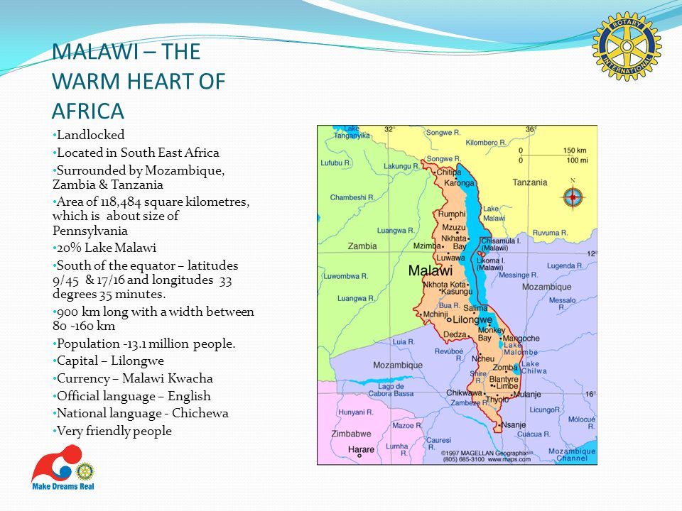 MALAWI – THE WARM HEART OF AFRICA