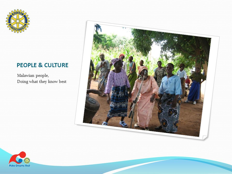 PEOPLE & CULTURE Malawian people, Doing what they know best