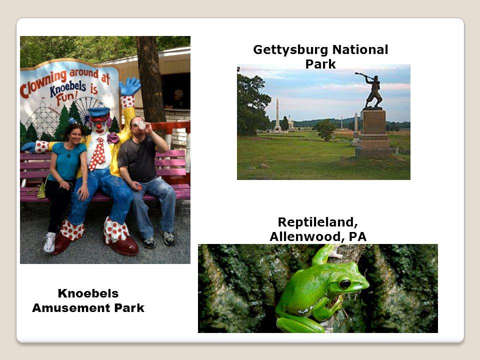 Gettysburg National Park Reptileland, Allenwood, PA