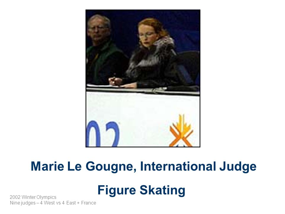 Marie Le Gougne, International Judge
