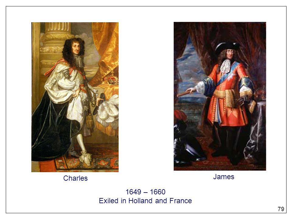 Exiled in Holland and France