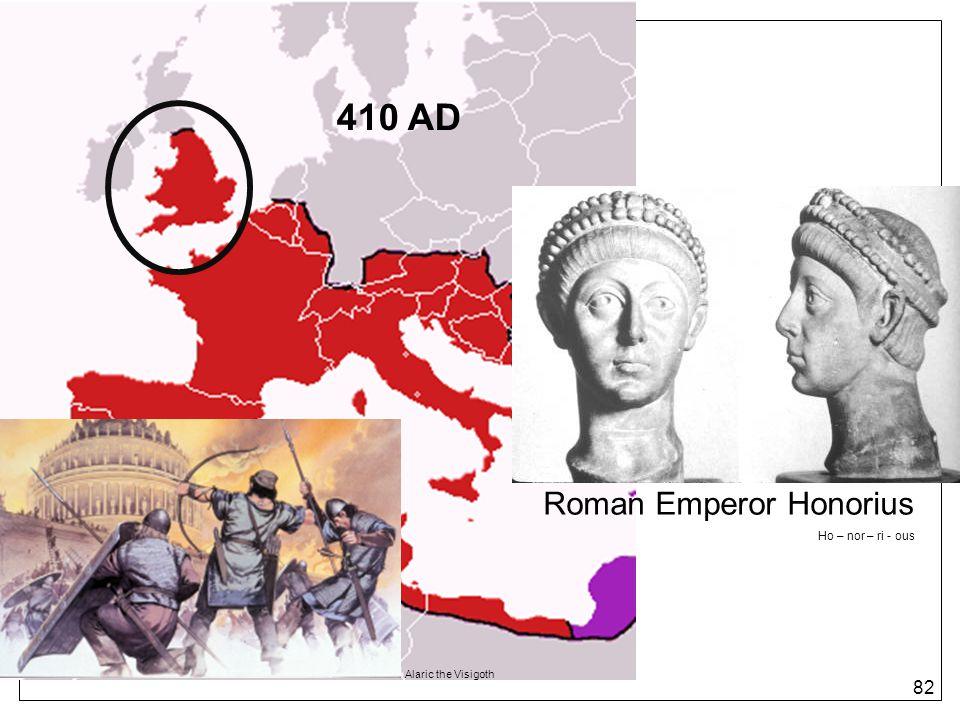 Roman Emperor Honorius