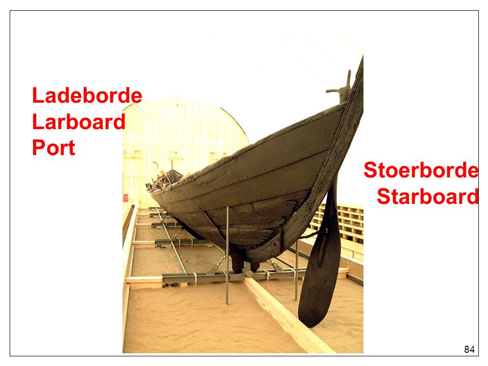 LadebordeLarboard Port Stoerborde Starboard