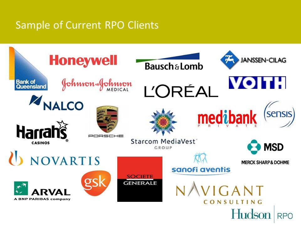 Sample of Current RPO Clients