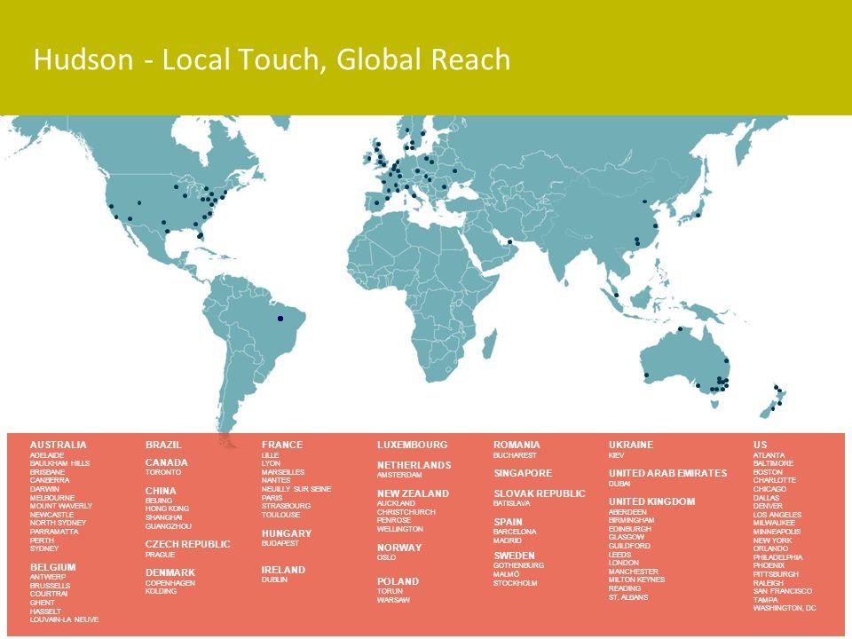 Hudson - Local Touch, Global Reach