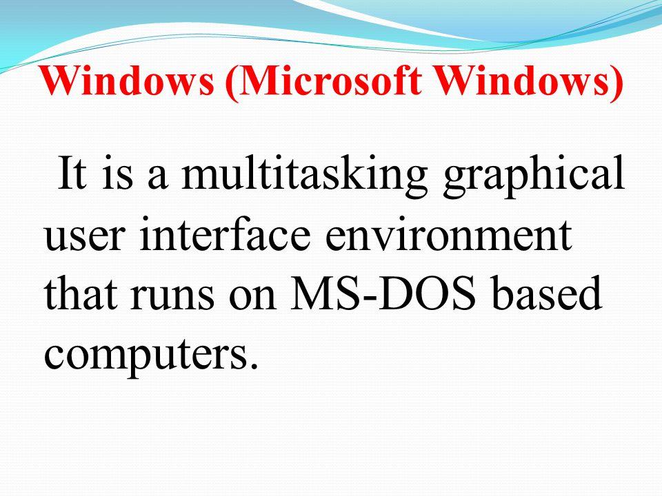 Windows (Microsoft Windows)