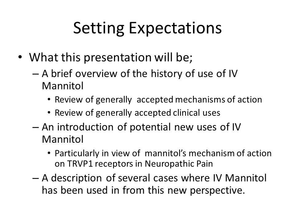 Setting Expectations What this presentation will be;