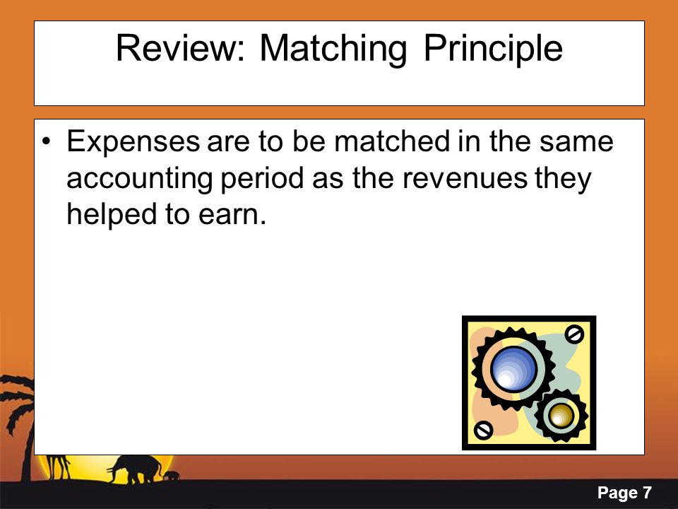 Review: Matching Principle