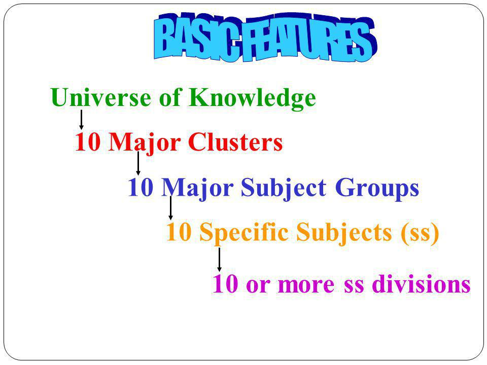 10 Specific Subjects (ss)