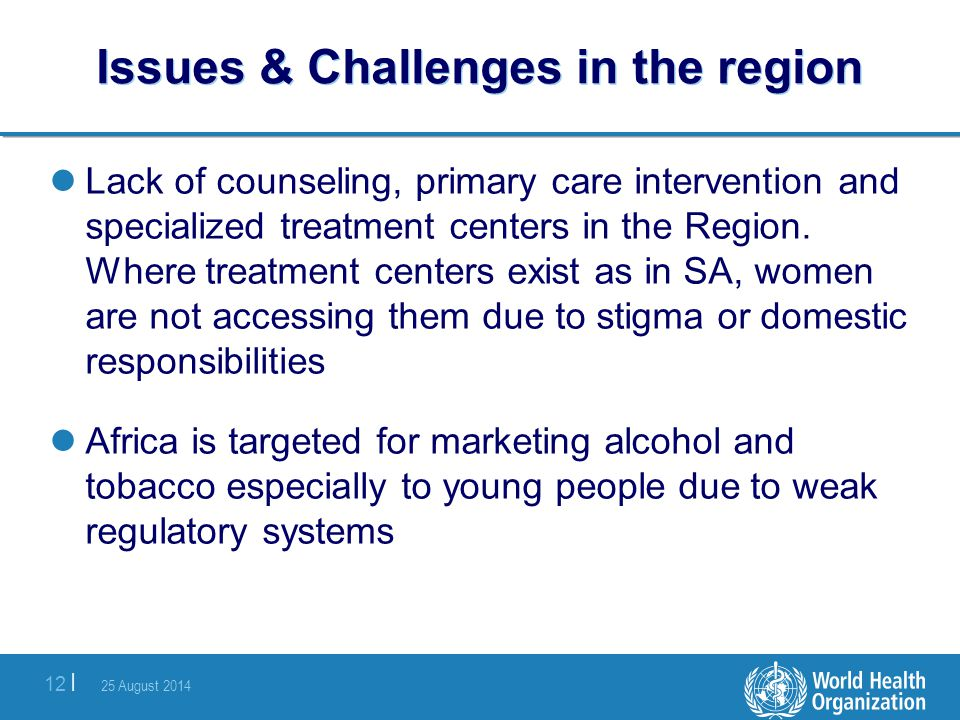 Issues & Challenges in the region
