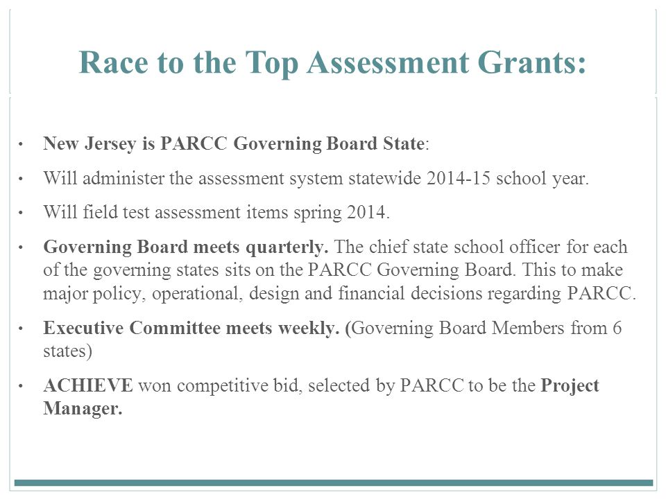 Race to the Top Assessment Grants: