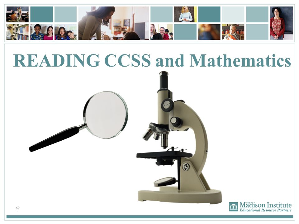 READING CCSS and Mathematics