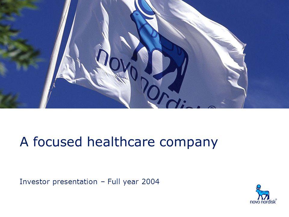 Investor presentation – Full year 2004